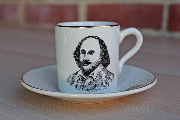 Lancaster & Sandland Ltd. (Hanley Staffordshire England) Shakespeare Memorial Theatre Cup and Saucer