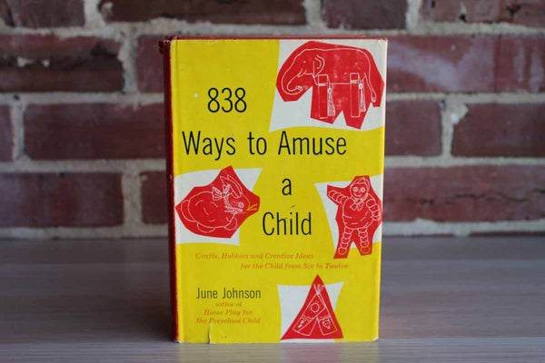 838 Ways to Amuse a Child by June Johnson