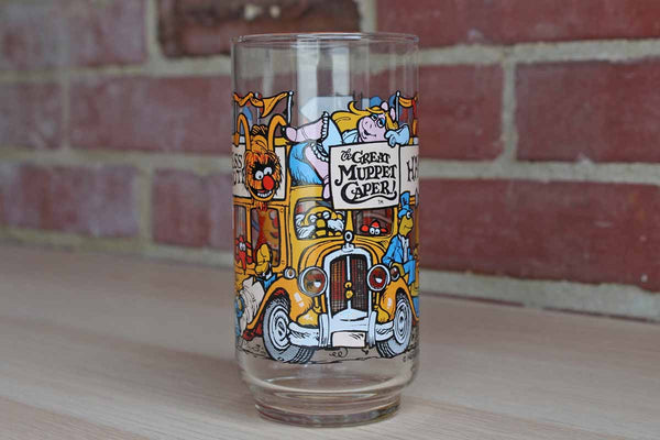 "The Great Muppet Caper ""Happiness Hotel"" Collectible Glass from McDonald's"