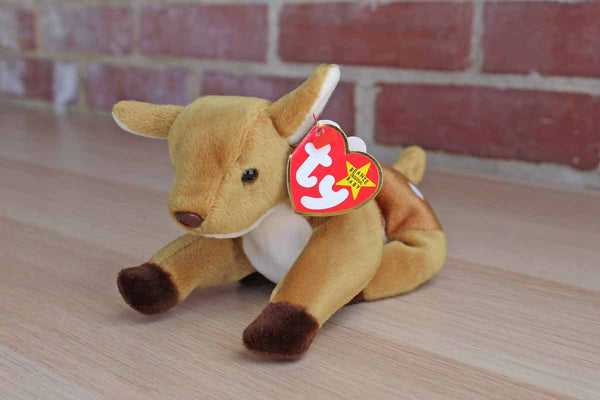 Ty Inc. (Illinois, USA) 1997 Whisper the Spotted Deer Beanie Baby