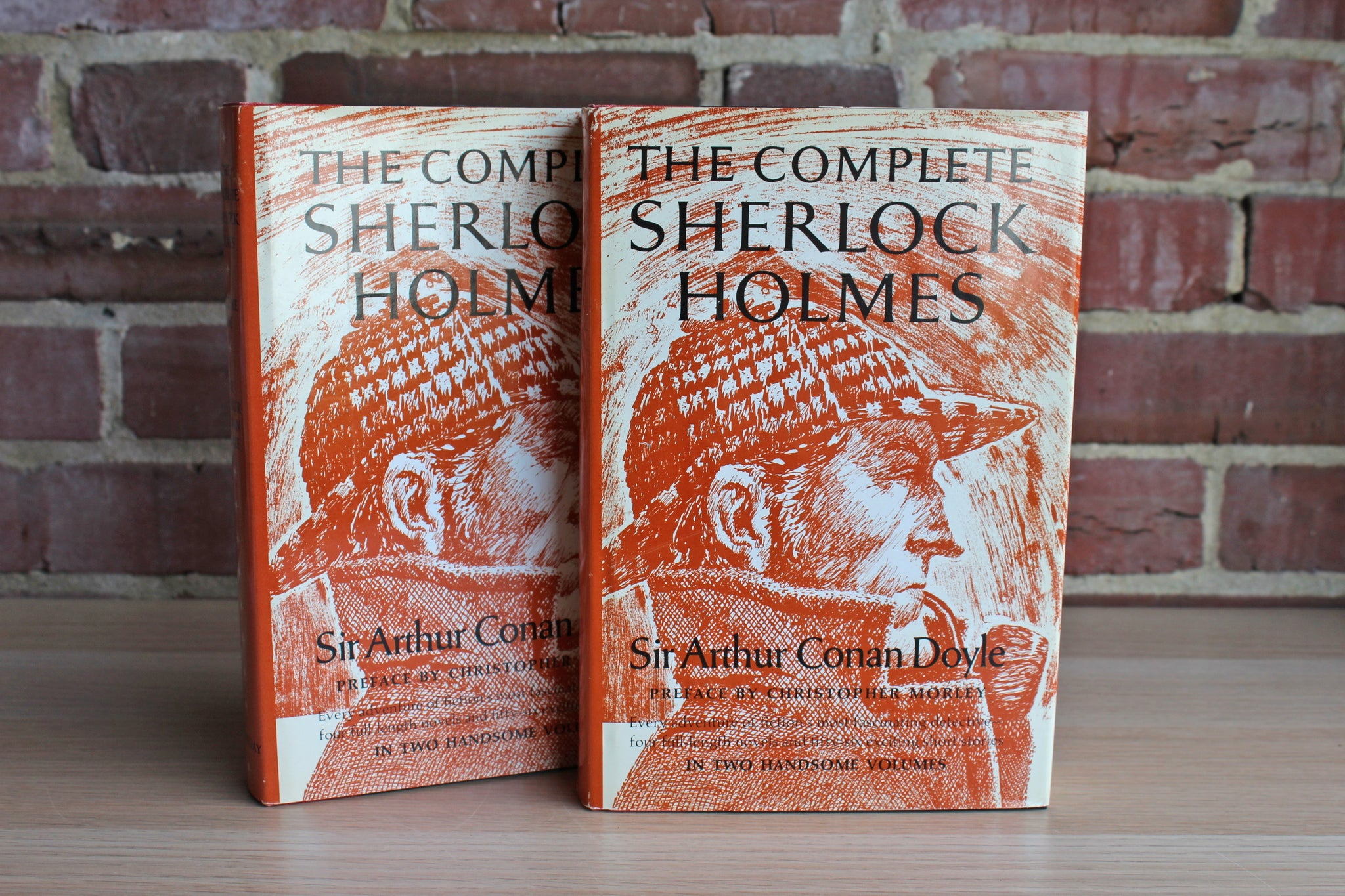 The Complete Sherlock Holmes in Two Handsome Volumes by Sir Arthur Conan Doyle