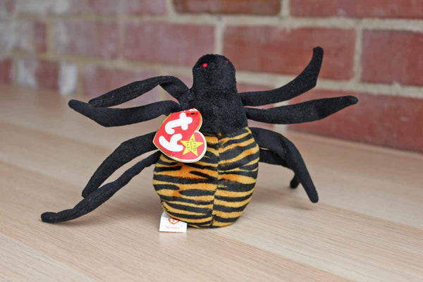 Ty Inc. (Illinois, USA) 1996 Spinner the Spider Beanie Baby