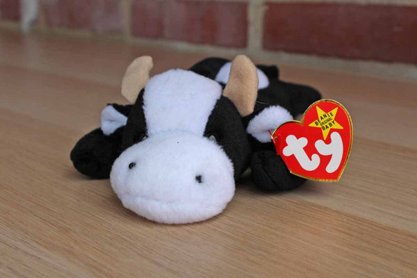 Ty Inc. (Illinois, USA) 1994 Daisy the Black and White Cow Beanie Baby