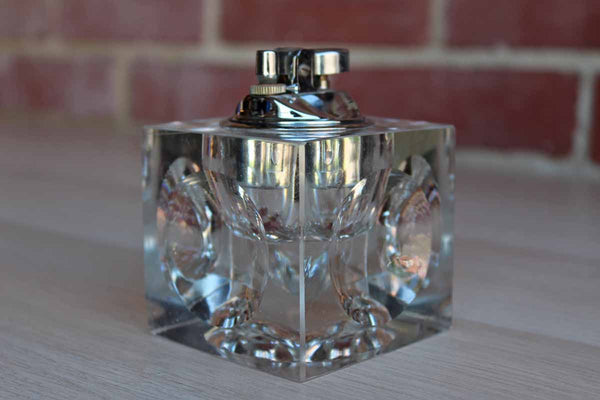Lucite Table Lighter