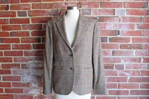 Brooks Brothers (New York, USA) Wool and Camelhair Women's Jacket, Size 12
