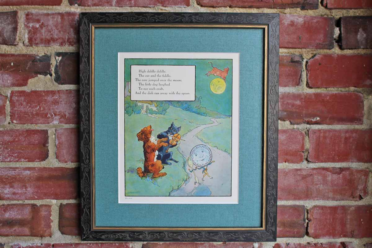The Philadelphia Print Shop, Ltd. (Pennsylvania, USA) Classic Mother Goose Print