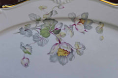 Edelstein (Germany) Charlotte Serving Platters Decorated with Flowers