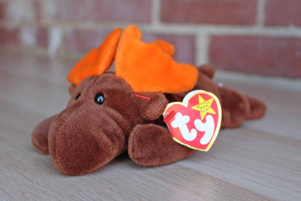 Ty Inc. (Illinois, USA) 1993 Chocolate the Moose Beanie Baby