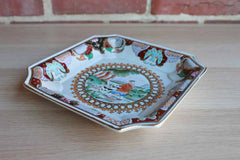 Heygill Imports (Japan) Hand Painted Hunting Scene Trinket Dish