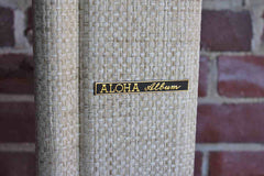 Pacific Enterprises (Hawaii, USA) Aloha Album with Ivory Cloth Tweed Cover