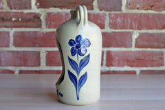 Williamsburg Pottery (Virginia, USA) Salt Glazed Candle Holder Shaped Like Jug