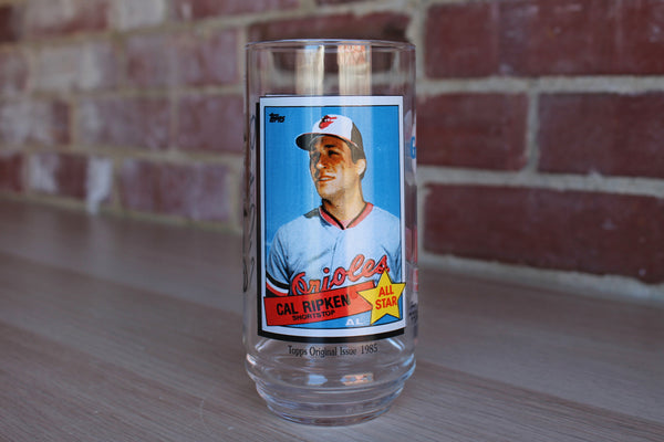 McDonald's All Time Greatest Team Glass 5 of 9:  Cal Ripken Jr. of the Baltimore Orioles