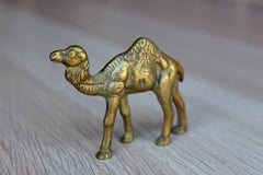 Small Brass Camel Figurine