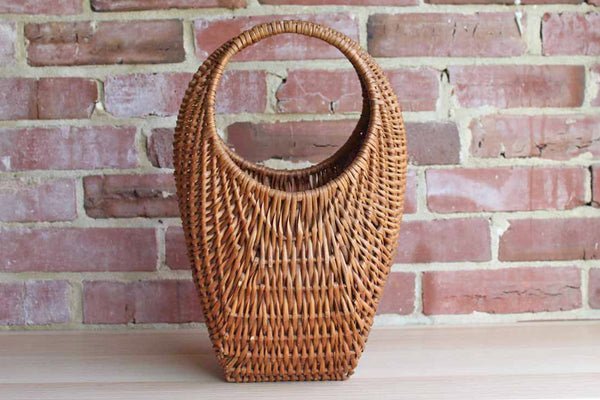 Hand Woven Handle Basket