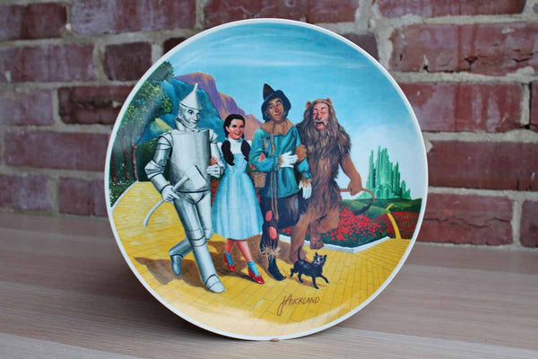 "Edwin M. Knowles China Company (West Virginia, USA) ""The Grand Finale"" Wizard of Oz Limited Edition Plate"