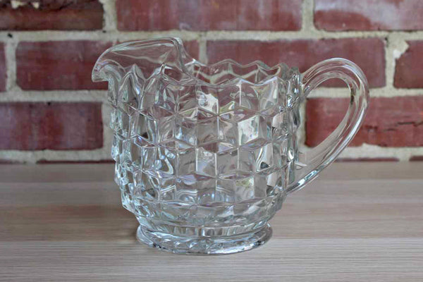 Fostoria Glass Company (West Virginia, USA) American Clear Glass Pitcher