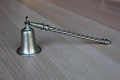 Pewter Candle Snuffer with Twisted Stem