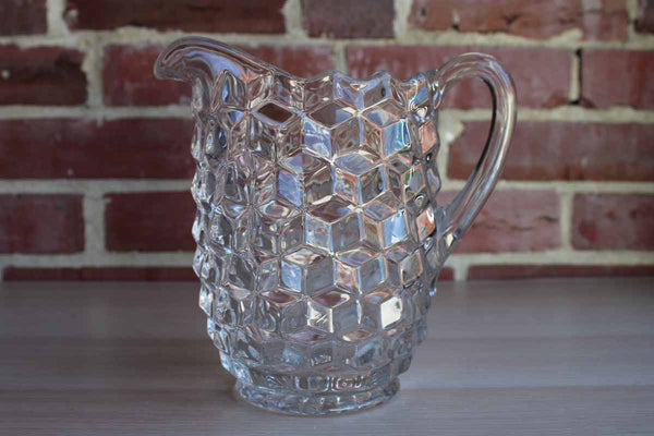 Fostoria Glass Company (West Virginia, USA) American Clear 40 Oz. Drink Pitcher