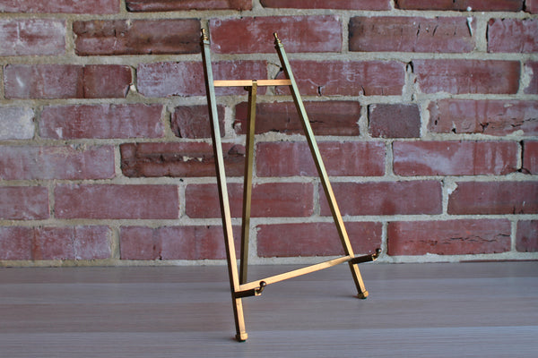 Brass Adjustable Display Easel