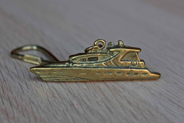 Brass Yacht Key Ring