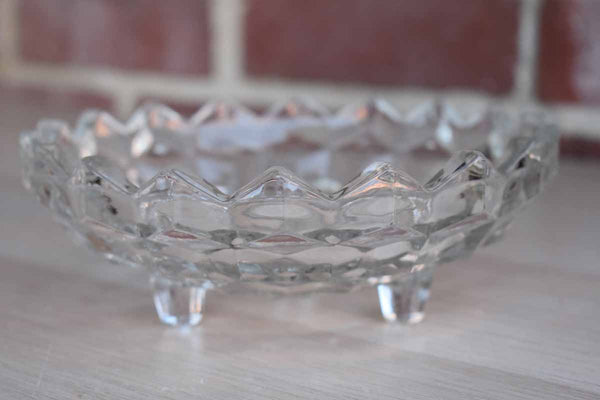 Fostoria Glass Company (West Virginia, USA) American CLear Footed Candy Dish