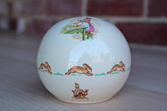 Royal Doulton (England) Bunnykins Mom Baking a Cake Money Ball