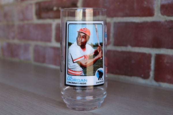 McDonald's All Time Greatest Team Glass 4 of 9:  Joe Morgan of the Cincinnati Reds