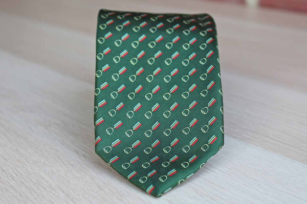 Ermilio Inc. (Philadelphia, PA) Silk Necktie Decorated with Ribbons