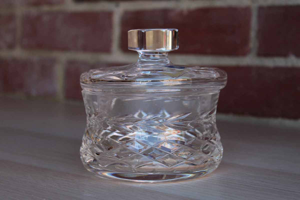 Cavan (Ireland) Full Lead Crystal Lidded Candy Dish