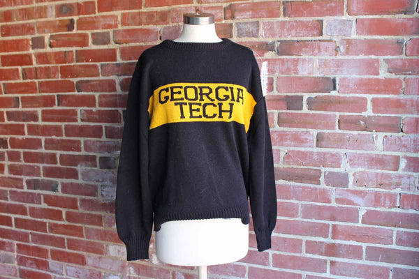 McBriar (USA) Georgia Tech College Sweater, Size Medium