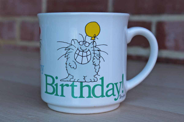 Sandra Boynton Ceramic Happy Birthday Mug