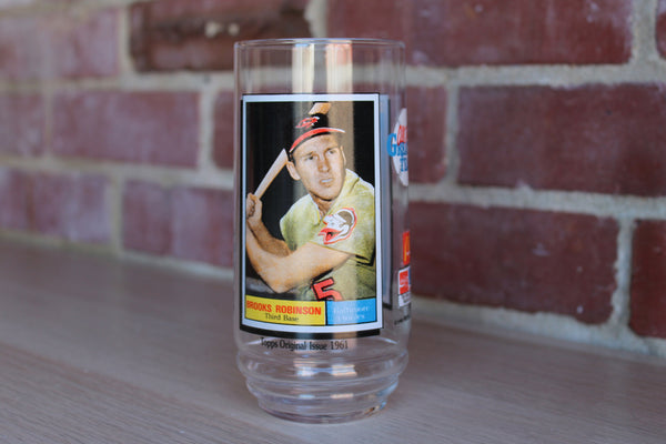 McDonald's All Time Greatest Team Glass 6 of 9:  Brooks Robinson of the Baltimore Orioles
