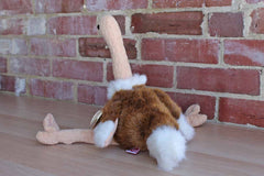 Ty Inc. (Illinois, USA) 1998 Stretch the Ostrich Beanie Buddy (Larger than a Beanie Baby)