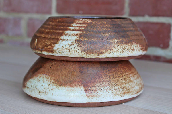 Handmade Stoneware Candle Holders
