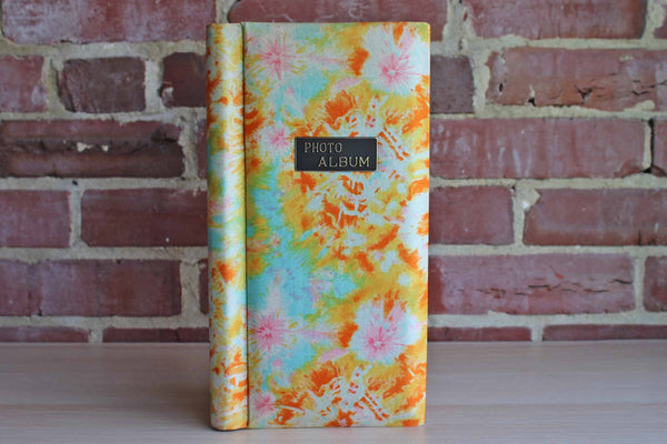 Flower Cloth-Covered Photo Album