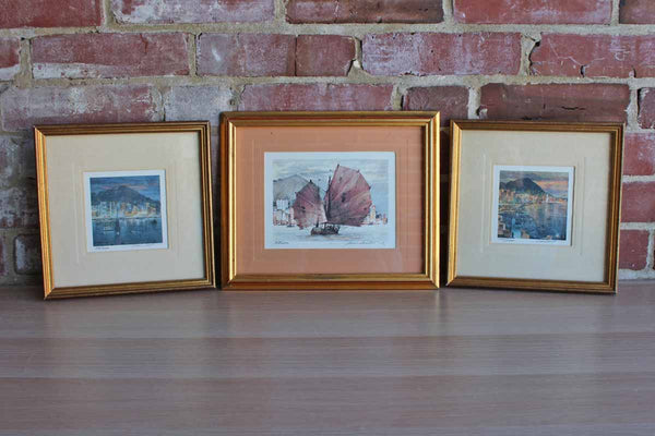 "Limited Edition Framed Prints from ""Trip to the Orient"""