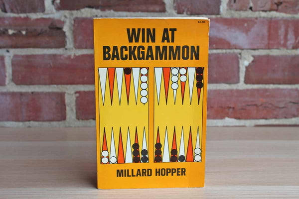Win at Backgammon by Millard Hopper