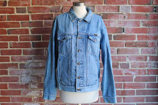 Wrangler Denim Jean Jacket, Size Large