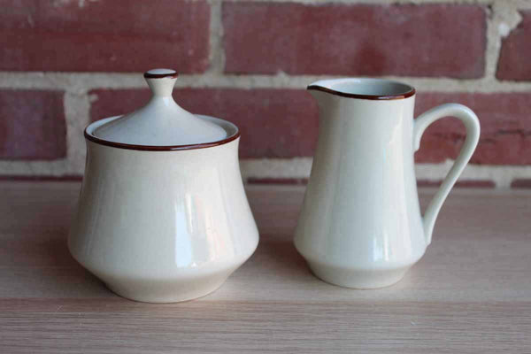 Countryside Stoneware Collection (Japan) Cream and Sugar Set