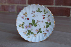 Wedgwood (England) Wild Strawberry Round Trinket Dish