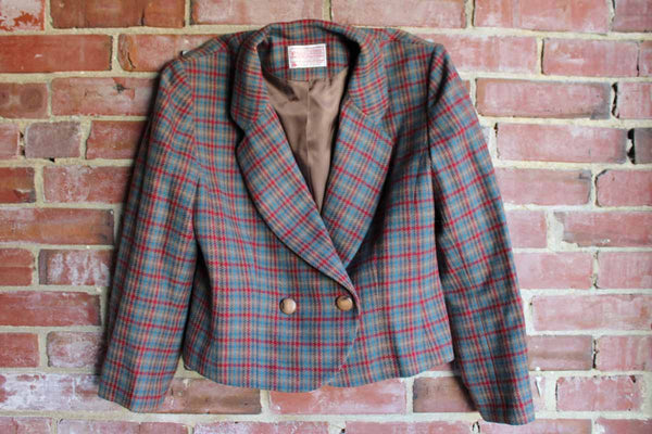 Pendleton Woolen Mills (Oregon, USA) Petite Wool Bolero Jacket, Women's Size 6