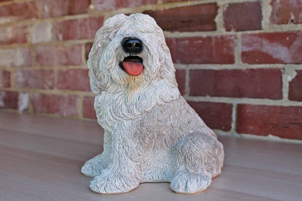 Bank Makers of America (Oklahoma, USA) Cast Resin English Sheepdog Coin Bank