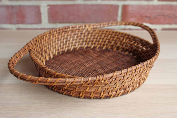 Hand-Weaved Wire Framed Casserole Carrier Trivet