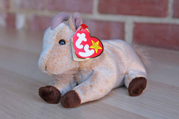 Ty Inc. (Illinois, USA) 1998 Goatee the Goat Beanie Baby