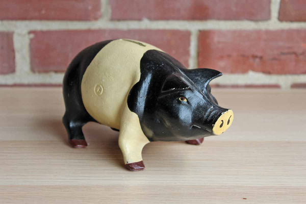 Heavy Cast Iron Piggy Bank