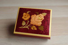 Notturno Intarsio (Italy) Inlaid Wood Hinged Trinket Box