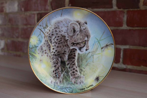 Franklin Mint (USA) Firefly Fascination by Glen Loates Decorative Plate