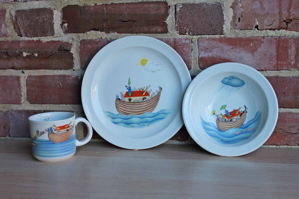 Royal Worcester (England) Noah's Arc Children's Dinner Set by Penny Ives