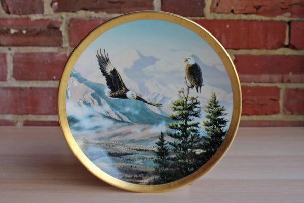 Lenox (USA) 1993 Eagles on Mount McKinley Plate