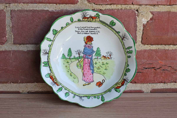 B.R. & Co. (England) Porcelain Nursey Rhymes Bowl